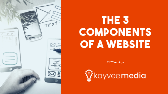 The 3 Components of A Website