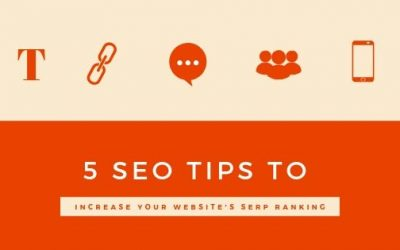 5 SEO Tips to Increase Your Website's SERP Ranking