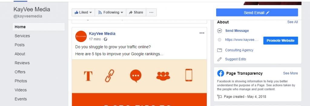 Social Media - Inbound Links